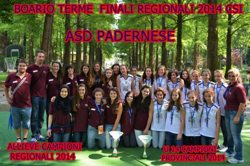 Padernese Allieve ed Under 14 2013-14 La foto ufficiale di Darfo Boario
