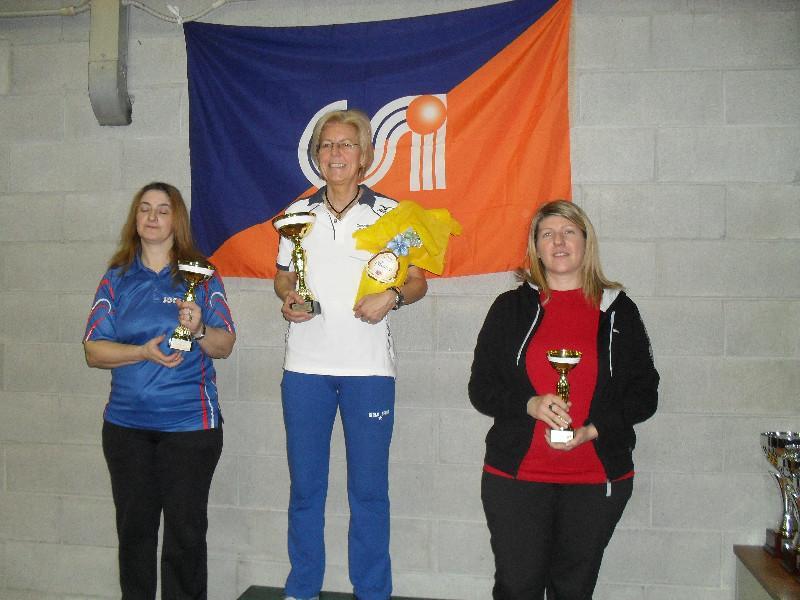 Open femminile - il podio