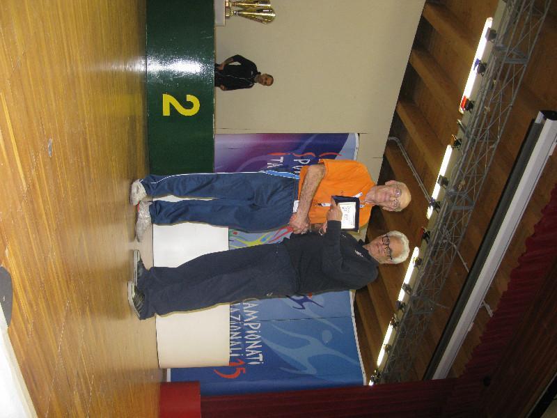 La premiazione del gioca-judo