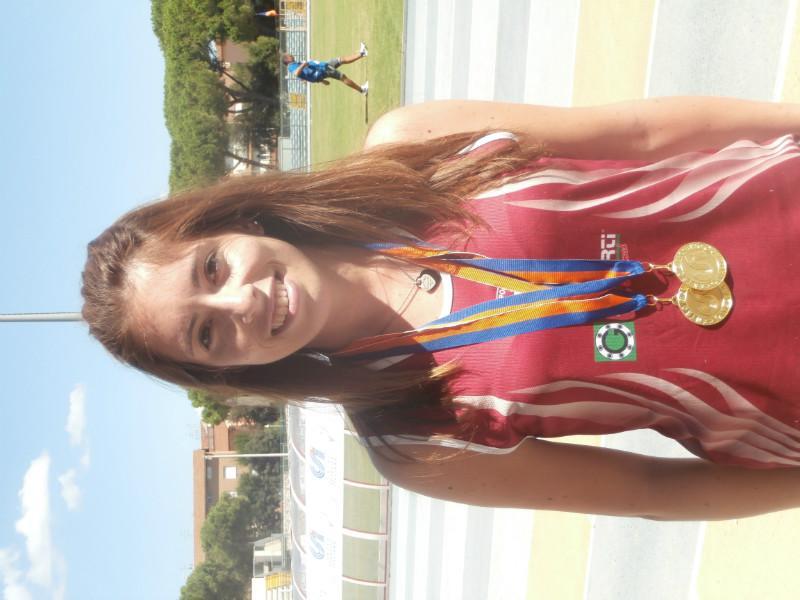 Valentina Piva Oro100 e 200mt