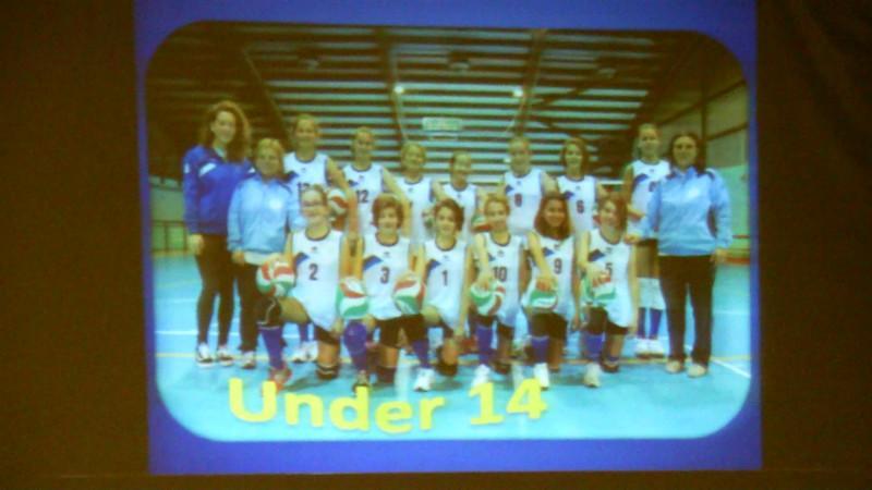 Under 14 volley