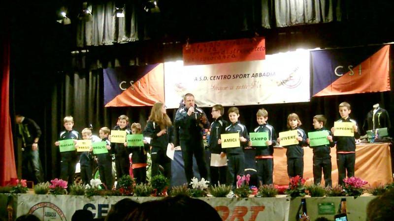 Festa Centro Sport  Abbadia  preghiera